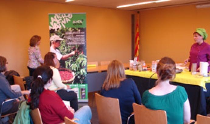 Aula de Cuina a Biocultura Barcelona 2013