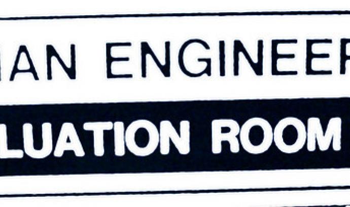 Evaluation room. Font: be OH (flickr) Font: