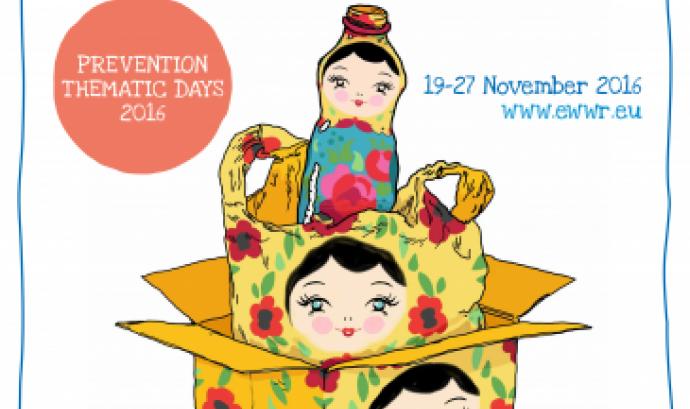 Del 19 al 27 de novembre es celebra la Setmana Europea per la Prevenció de Residus (imatge: ewwr.eu) Font: