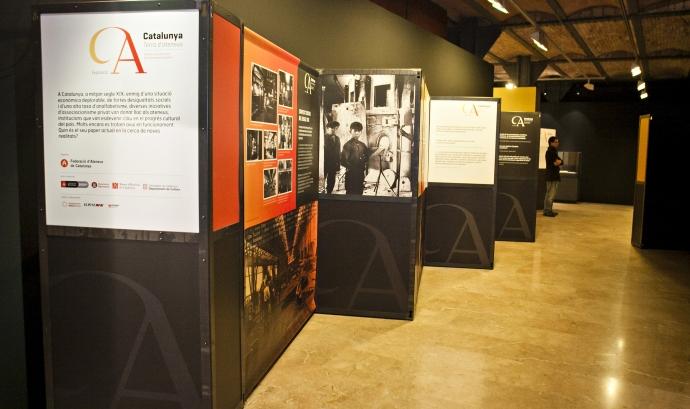 Plafons de l'exposició al Museu d'Història de Catalunya, a Barcelona