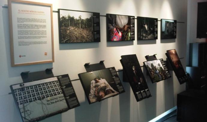 Algunes de les fotografies exposades