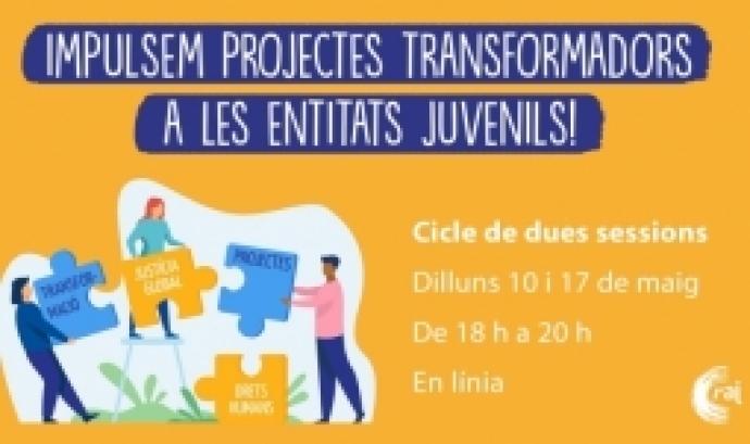 Impulsem projectes transformadors a les entitats juvenils! – Cicle formatiu