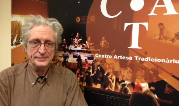 Jordi Fàbregas és l'impulsor del Festival Folk Internacional Tradicionàrius (foto: Marta Rius)