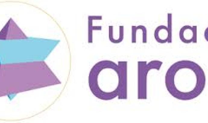 Logotip de la Fundació Aroa.