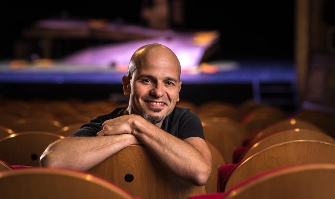 Carles Pijuan i Canals, un dels directors artístics del festival Esbaiola't.  Font: Imatge cedida per Carles Pijuan