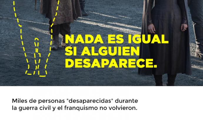 La campanya mostra com canvia una sèrie si algun personatge hi falta Font: Amnistia Internacional