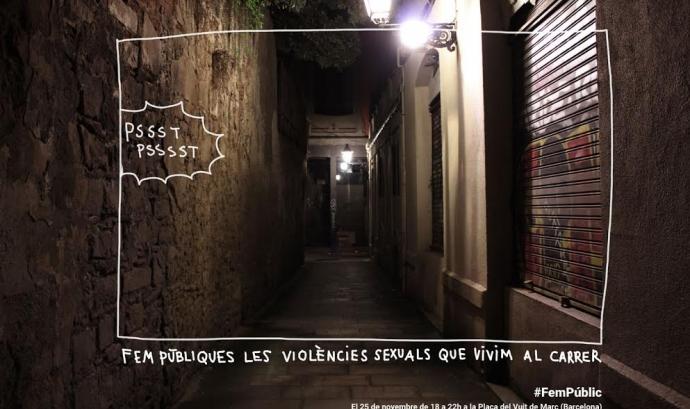 Al carrer es produeixen molts actes de violència sexual Font: