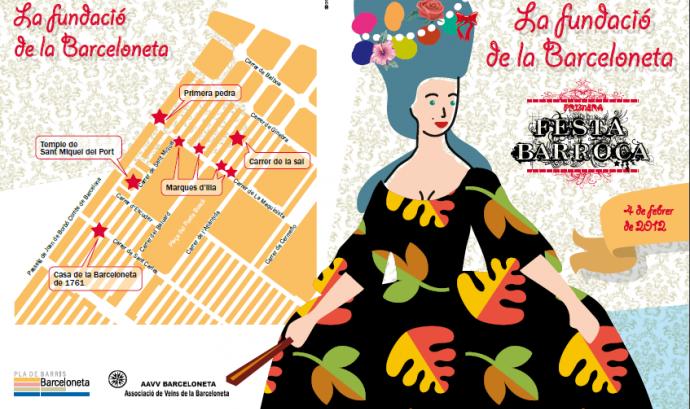 Cartell de la Festa barroca de la Barceloneta