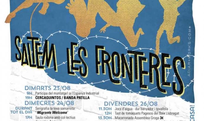 Cartell de la Festa Major Alternativa de Sants / Font: Festa Major Alternativa de Sants