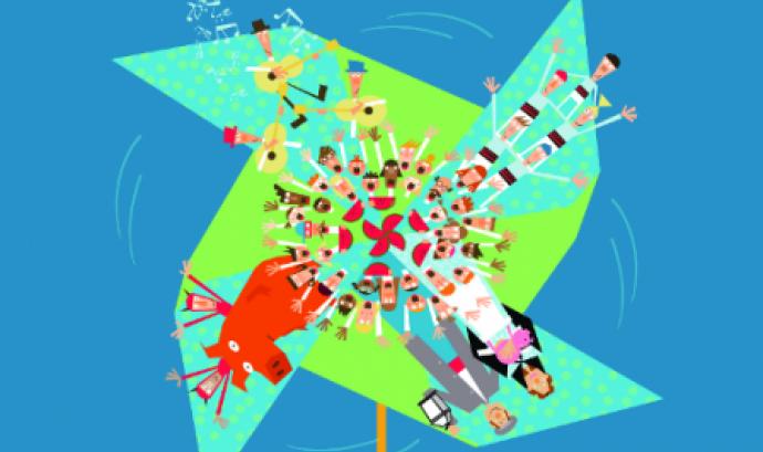 Part del cartell de la Festa de la Rumba de Xarx@ntoni Font: