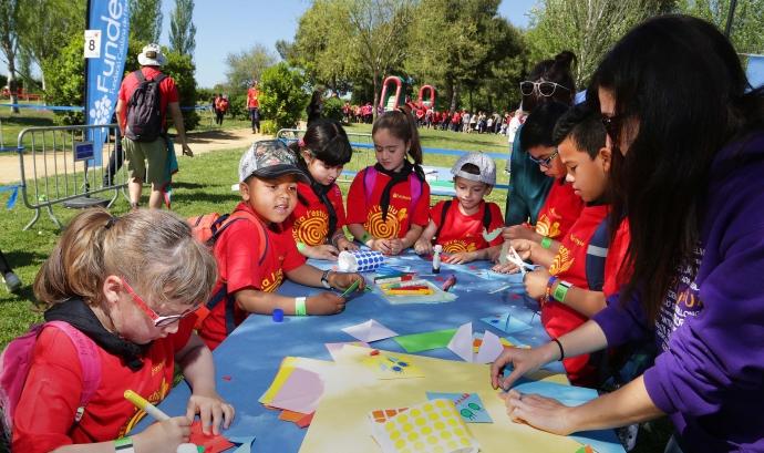 La Festa Esplai se celebrarà el 6 de maig al Parc Nou del Prat de Llobregat. Font: Fundesplai
