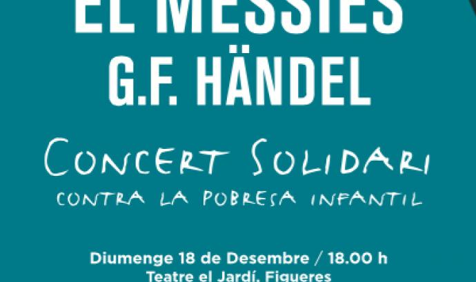 Cartell concert solidari. Font: Fundació Música Solidària