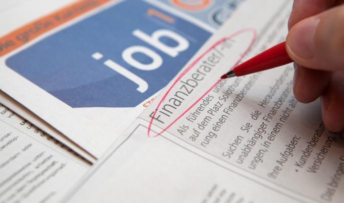 Recerca de feina. Font: Tax Credits, Flickr