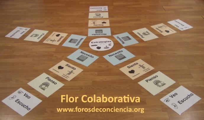 Flor Col·laborativa. Font: www.forosdeconciencia.org