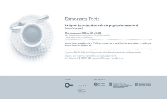 XI Esmorzar FOCIR amb Ferran Mascarell
