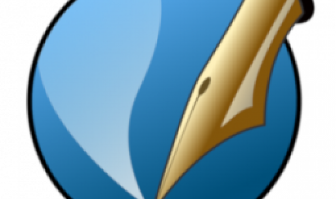 logotip de Scribus