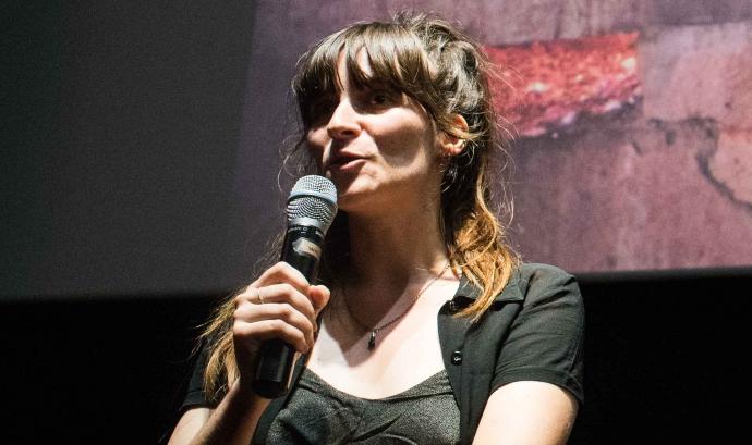 Marta Nieto és la programadora de la Mostra Internacional de Films de Dones. Font: