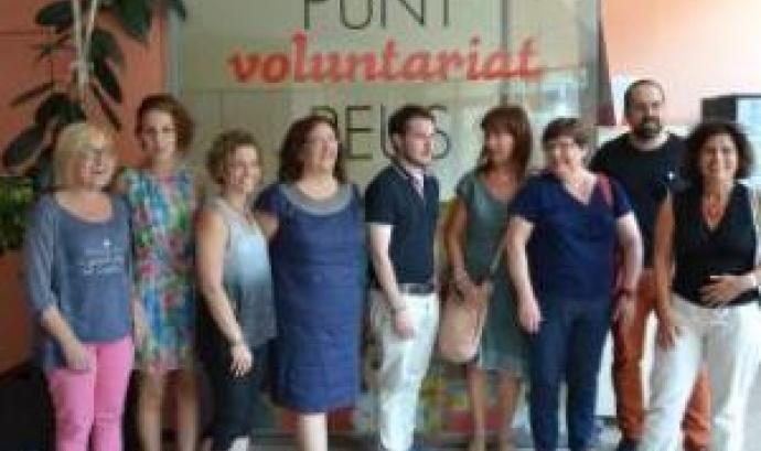 El Punt de Voluntariat de Reus celebra el seu primer aniversari amb 108 persones ateses Font: