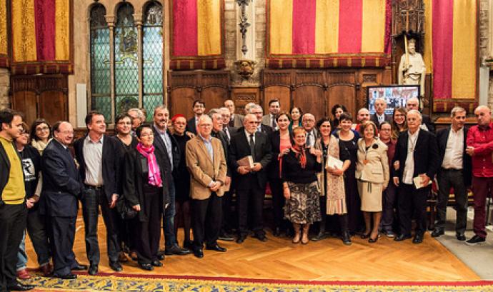 Foto de grup dels premitats i premiades d'enguany Font: