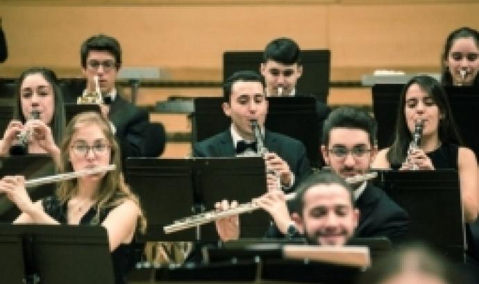 Concert interpretat per la JONC. Foto: Auditori de Barcelona