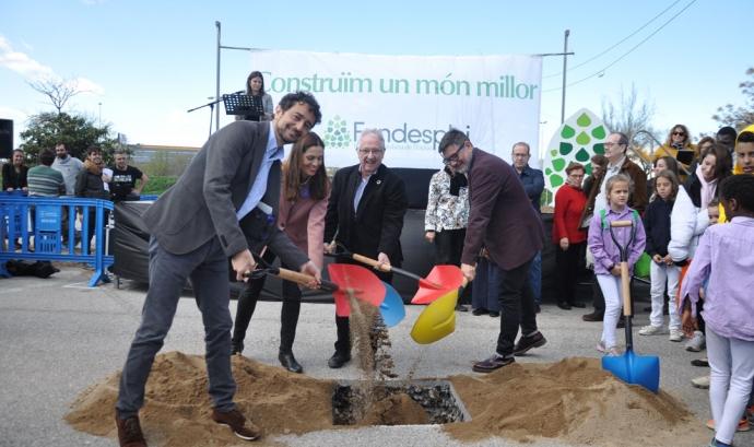 El projecte té un pressupost total de 17,2 milions d'euros. Font: Fundesplai. Font: Font: Fundesplai.