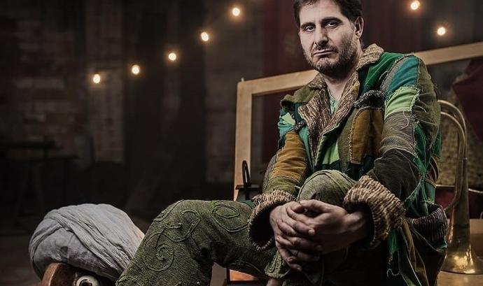 Eric Blasi és un dels actors de la companyia La Baldufa Teatre. Font: La Baldufa Teatre. Font: Font: La Baldufa Teatre.