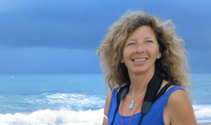 La responsable de voluntariat del GEPEC, Susanna Cuadros. Font: Cedida per Susanna Cuadros