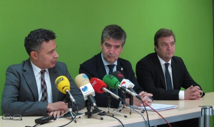 Ignacio Cosidó declarant a la jornada de Logronyo. Font: web europapress.es Font: