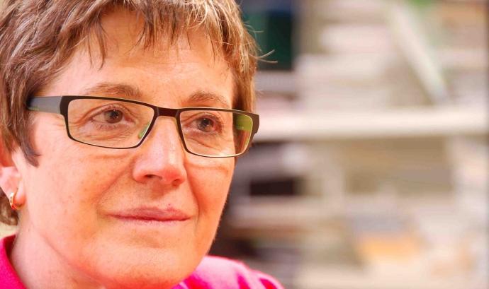 Francina Alsina, presidenta de la Federació Catalana del Voluntariat Social Font: