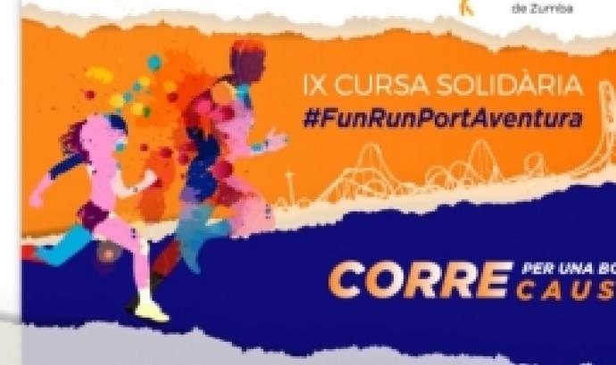 Imatge gràfica de la cursa. Font: Port Aventura Fundació