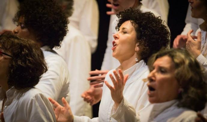 Imatge de The Gospel Viu Choir. Font: web de The Gospel Viu Choir Font:
