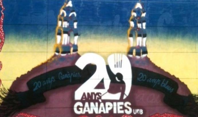 Mural commemoratiu de Ganàpies de la UAB  Font: