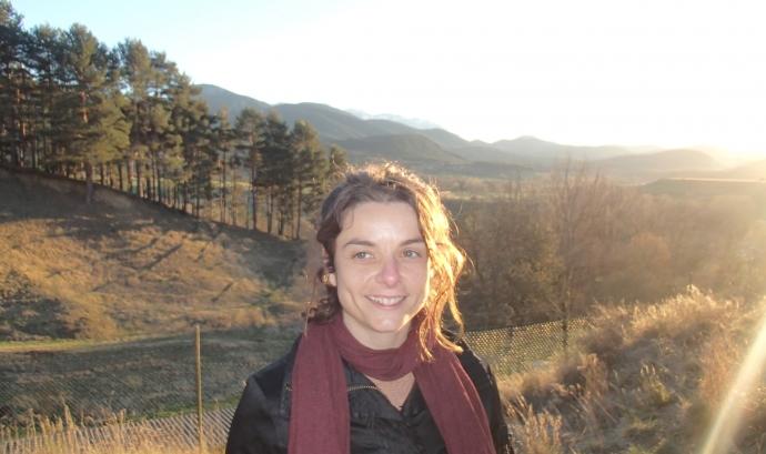 Gemma Uix. Col·laboradora de l'Hora Violeta. Font: