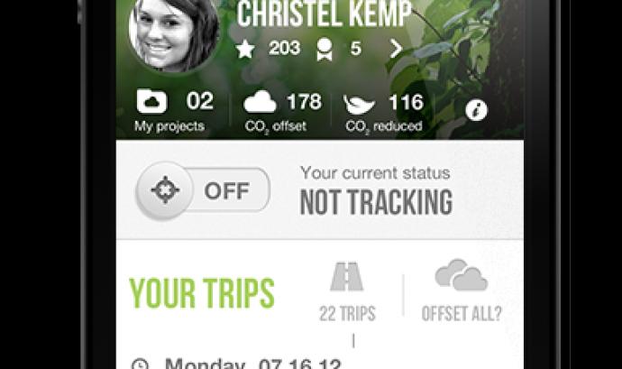 GiveO2, l'aplicació per conscienciar sobre l'efecte hivernacle Font: