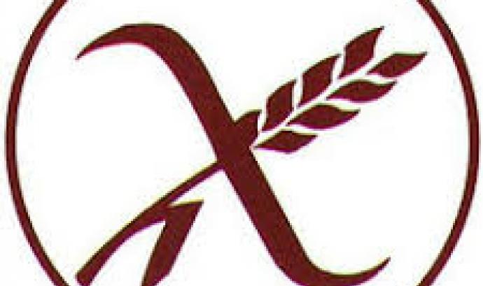 Un dels Logotips que indica que un producte és apte per celíacs