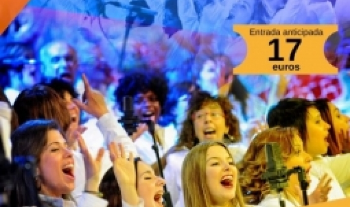 L'objectiu del concert és recaptar fons per la Fundació Salut Mental Catalunya. Font: Salut Mental Catalunya.