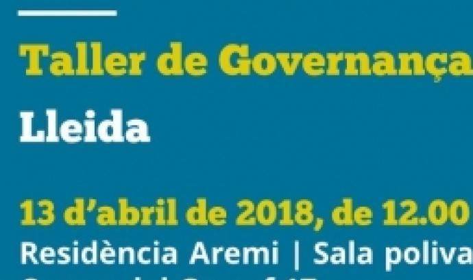 Taller de governança democràtica a Lleida