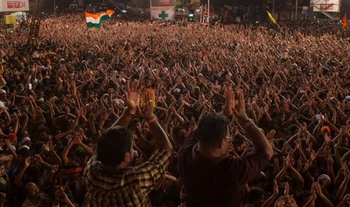 Imatge del festival govinda de Mumbai Font: