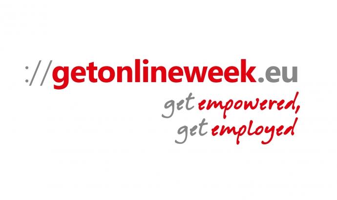 Logotip de la Get Online Week 2015