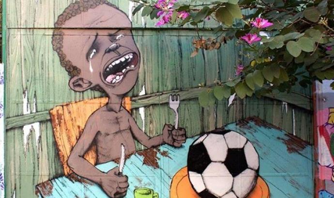 Mural de l'artista brasileny de carrer Paulo Ito. Font: Regeneracion.mx Font: