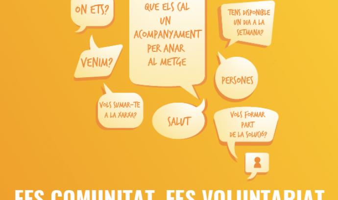 Xerrada 'Fes comunitat, fes voluntariat' de la FCVS a Sant Andreu