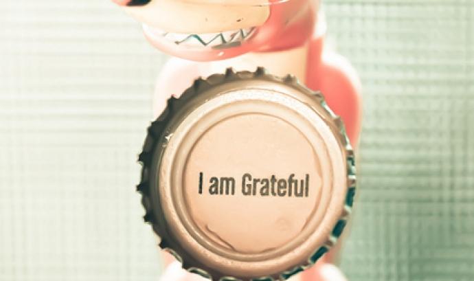 Grateful. Font: theloushe (flickr) Font: