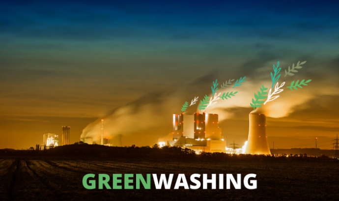 Greenwashing (rentat de cara verd) Font: Marta Rius