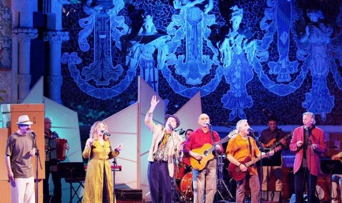 Concert del Grup de Folk. Foto: cau de Pineda Font: