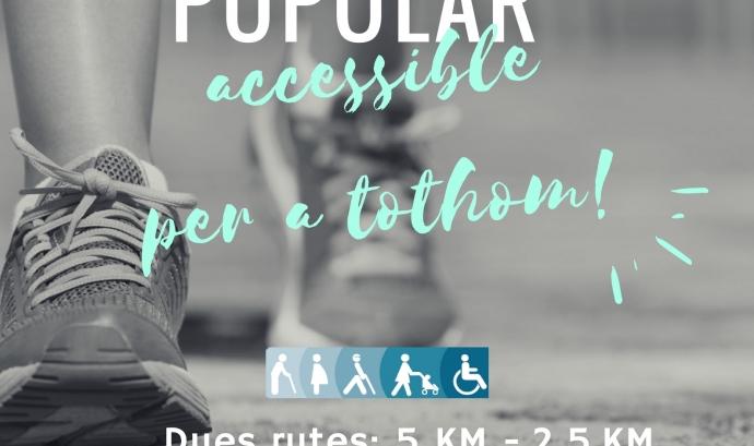 Caminada popular i accessible per tothom d'ASPID Lleida