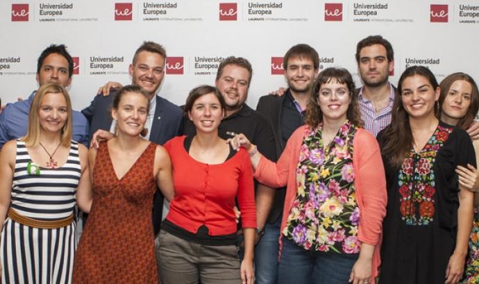 Els guanyadors dels VI Premis Joves Emprenedors Socials Font: