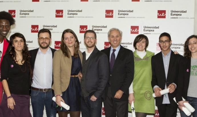 Guanyadors/ores dels V Premis Joves Emprenedors Socials Font: