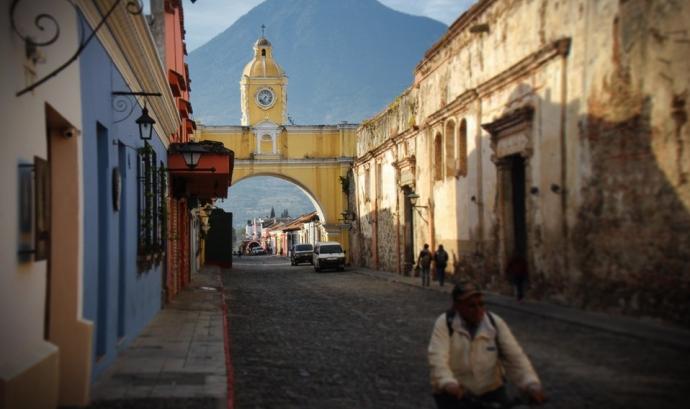 L'objectiu de l'activitat és conèixer de primera mà com s'organitzen les comunitats de Guatemala en la defensa del seus territoris. Font: Farmamundi.