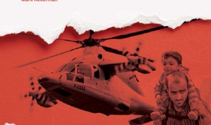 """Portada de l'informe """"Guerres de Frontera"""" / Font: Centre Delàs d'Estudis per la Pau"""
