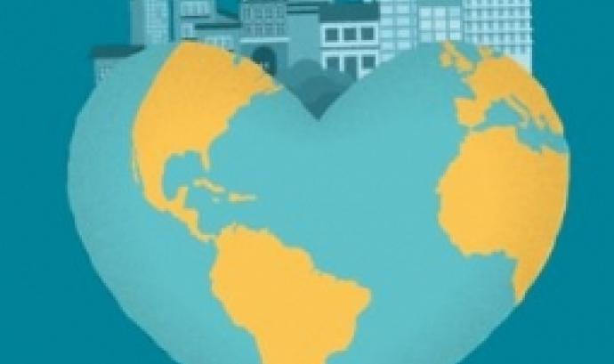 L'acte commemora el 70è aniversari de la Declaració Universal de Drets Humans. Font: Cities for rights.